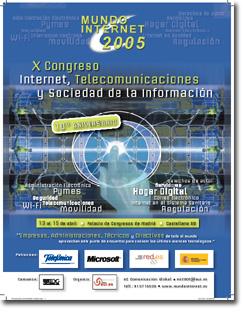 Ponencias oficiales Mundo Internet 2005
